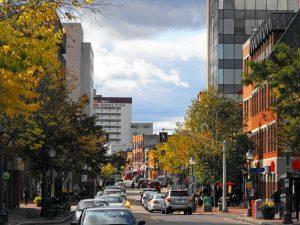 Downtown Moncton New Brunswick