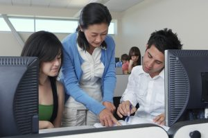 Students Using Online Video Admissions