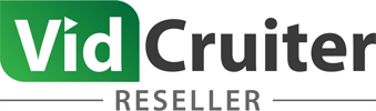 Logo de Vidcruiter Reseller
