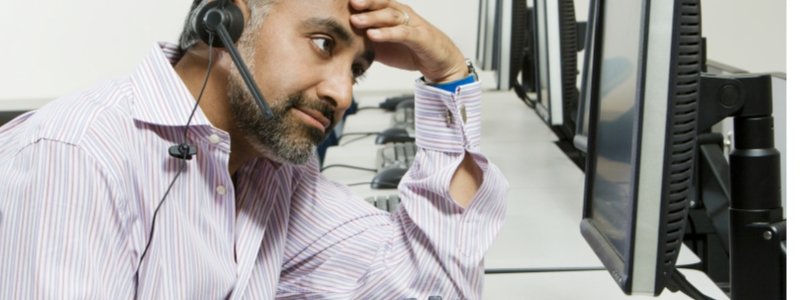 Recruiter Missing Non-Verbal Indicators During A Phone Interview With A Candidate