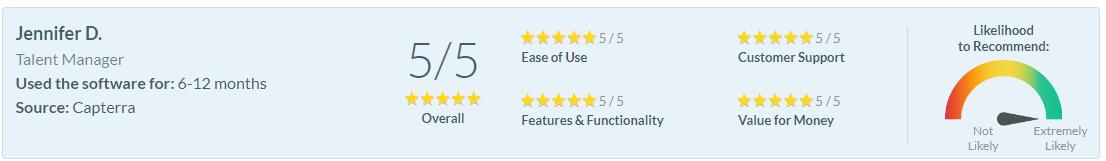 Software Advice Review - Jennifer D.