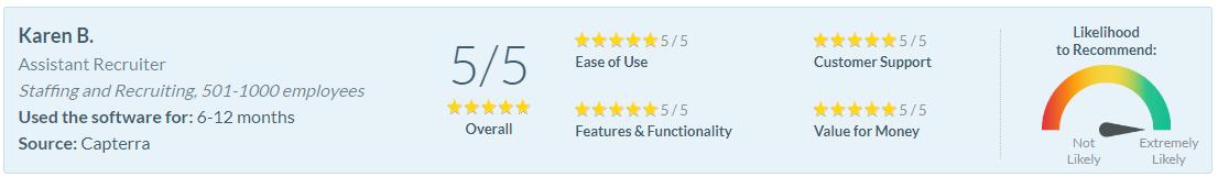 Software Advice Review - Karen B.