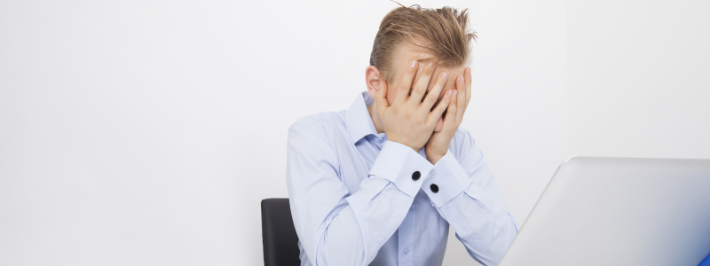 A Recruiter That Is Frustrated from Playing Email Tag with Candidates