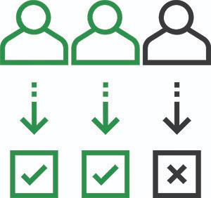 Assessment center roles