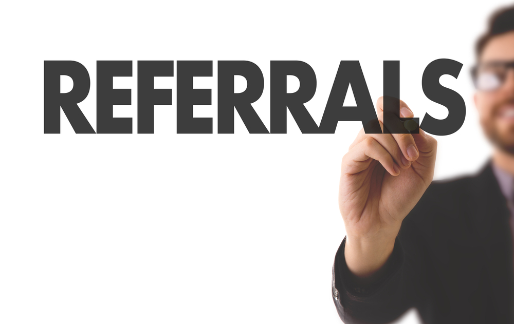 Target passive prospects with employee referrals