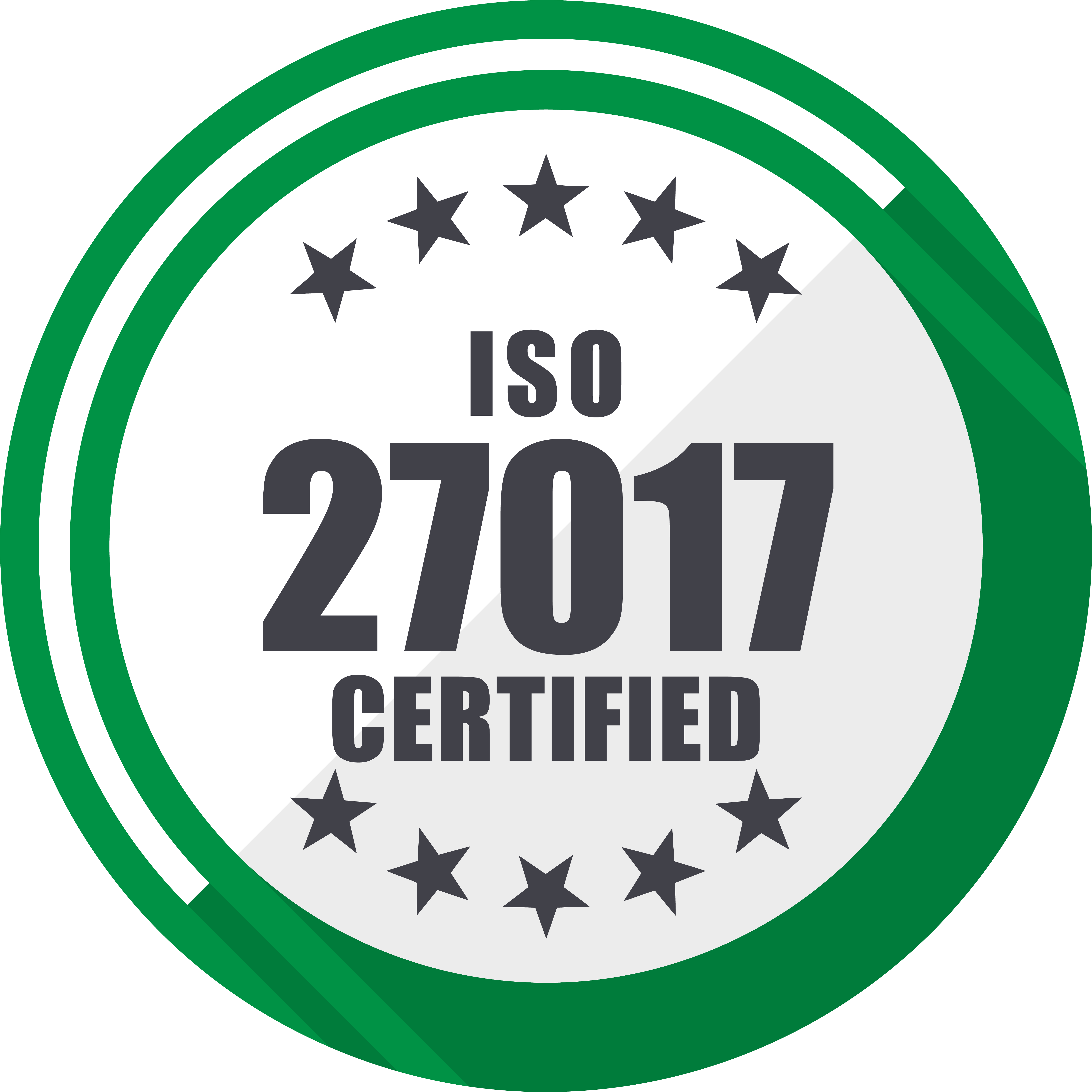 ISO 27017 Certified