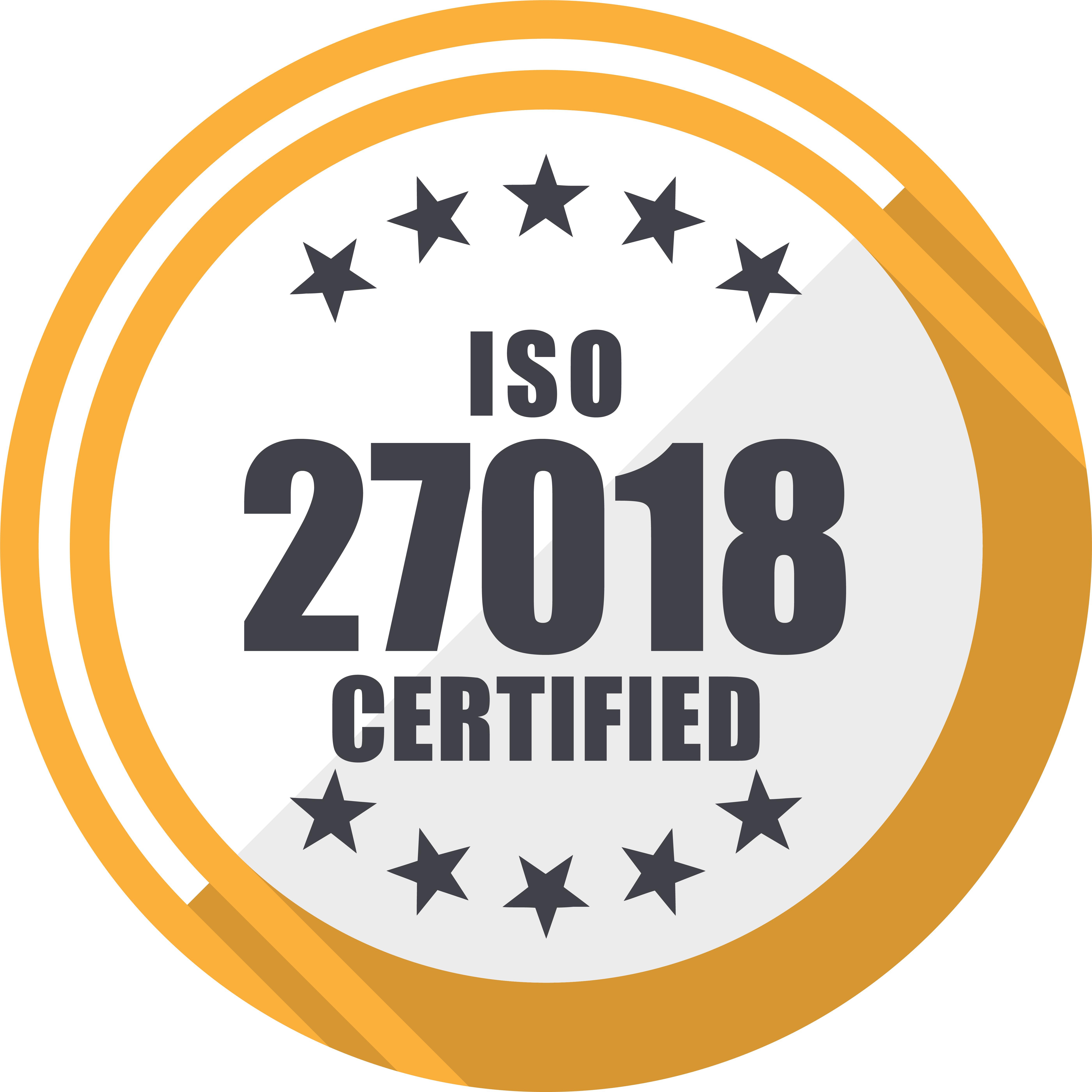 ISO 27018 Certified