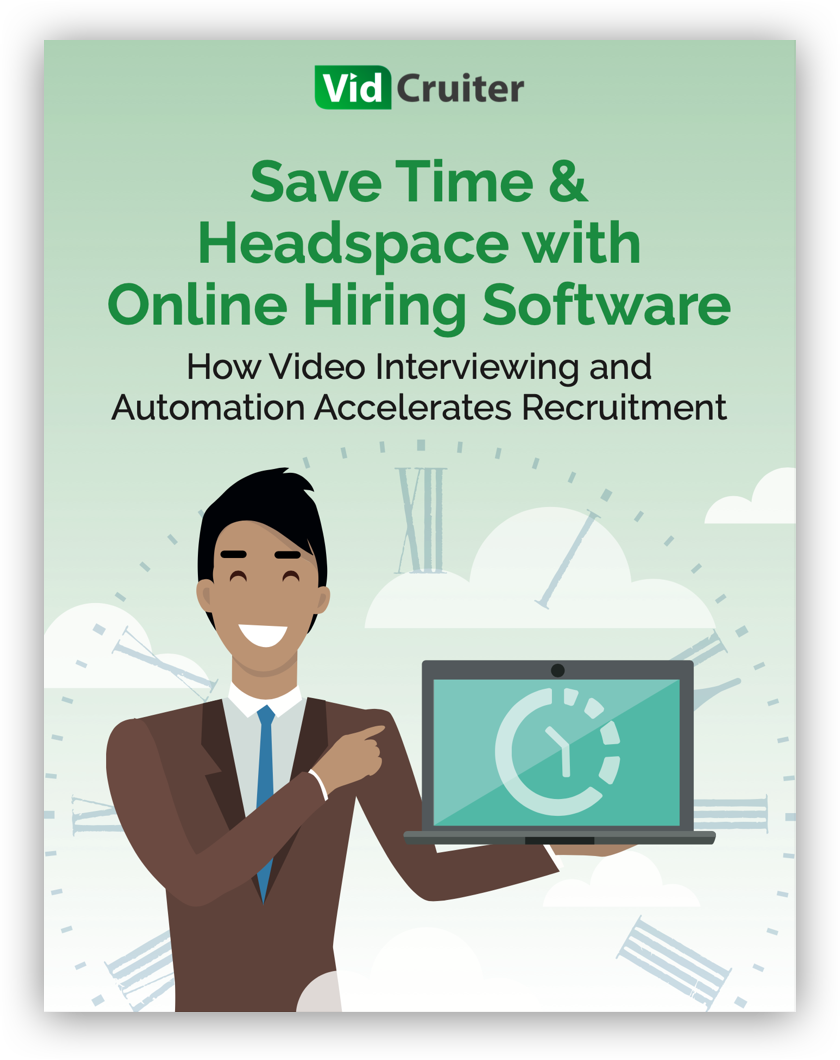 Save Time & Headspace with Online Hiring Software