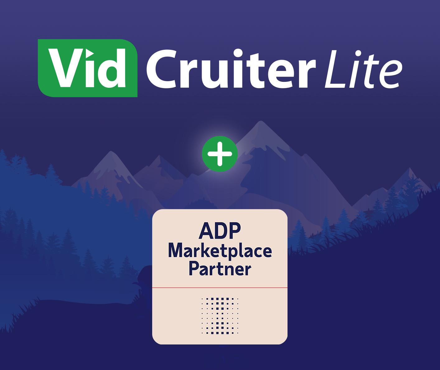 VidCruiter and ADP Workforcenow