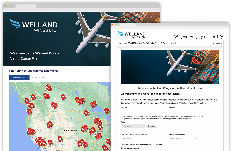 Welland Landing Page