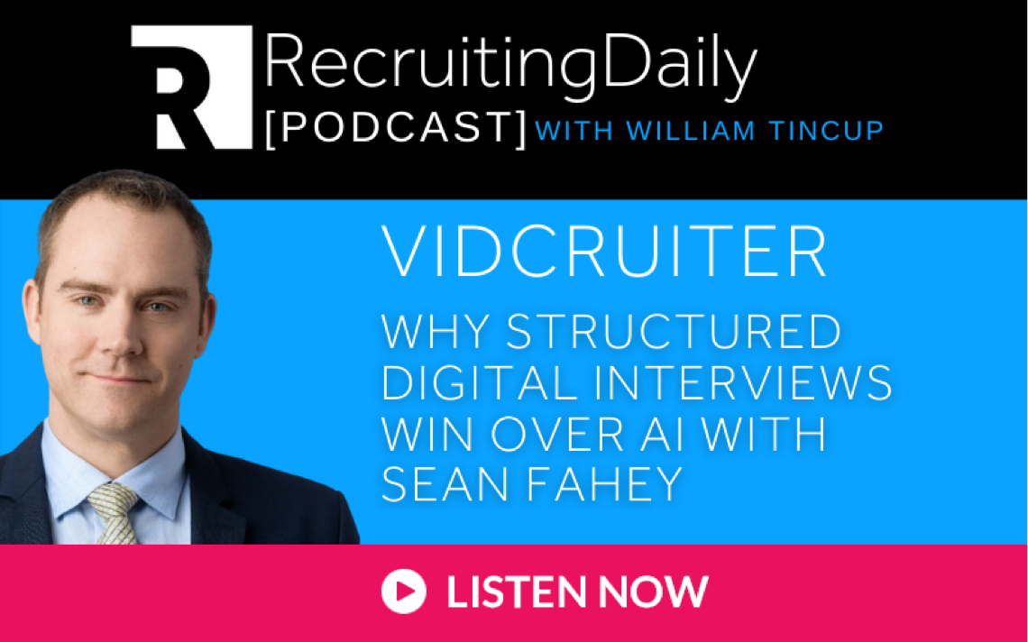 Recruiting Daily Podcast with William Tincup
